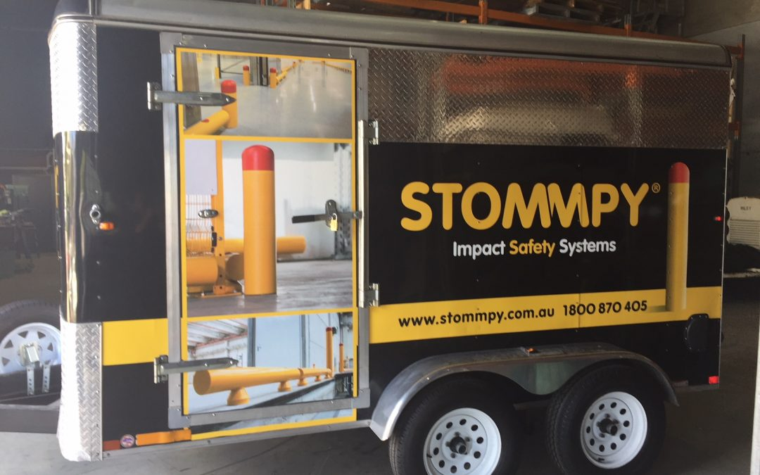 Stommpy Australia Installation Trailer ready for action!